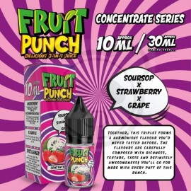 Fruit Punch -Soursop Strawberry Grape - Aroma 10ml